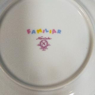ファミリア(familiar)のファミリアお皿(ノリタケ)2枚(食器)