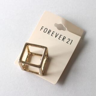 FOREVER21 リング ゴールドカラー 14号(リング(指輪))