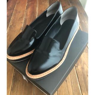ユナイテッドアローズ(UNITED ARROWS)のユナイテッドアローズ ローファー 黒 美品(ローファー/革靴)