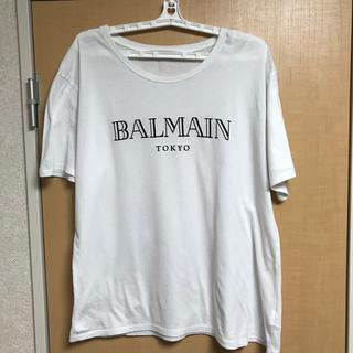 バルマン(BALMAIN)のH&M✖︎balmainコラボTシャツ&フード付ロンT(Tシャツ/カットソー(半袖/袖なし))
