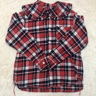 ビームスボーイ(BEAMS BOY)のBEAMS BOY フリル襟ネルシャツ(シャツ/ブラウス(長袖/七分))