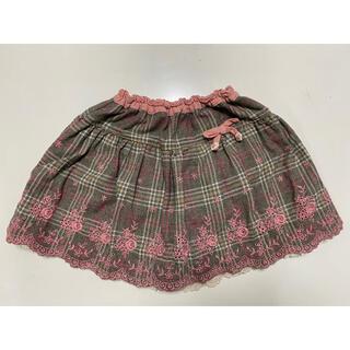スーリー(Souris)のsouris スーリー スカート キュロット 140㎝ 刺繍(スカート)