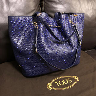 TOD'S - 【ほぼ未使用】TOD'S / Signature Shopping Tote