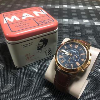 FOSSIL フォッシル 腕時計 アナログ レザー クォーツ