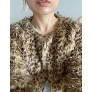 ロキエ(Lochie)のvintage leopard far coat🦉💕💕(毛皮/ファーコート)