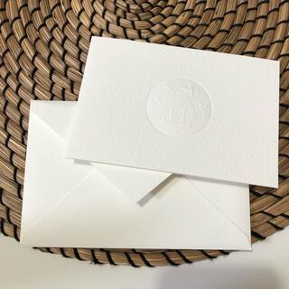 エルメス(Hermes)の新品 hermesエルメス メッセージカード 1枚(カード/レター/ラッピング)