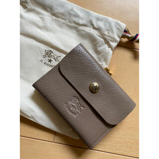 イルビゾンテ(IL BISONTE)のc1114 トルトラ イルビゾンテ  がま口二つ折り財布 新品未使用(財布)