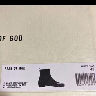 フィアオブゴッド(FEAR OF GOD)のfear of god チェルシー ブーツ(ブーツ)