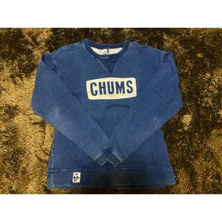チャムス(CHUMS)の【美品】CHUMS スウェット/パーカー(スウェット)