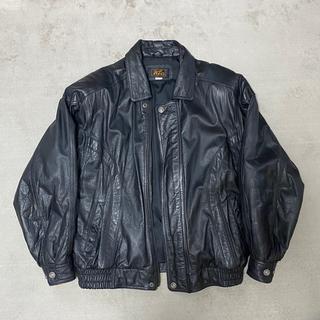 ジョンローレンスサリバン(JOHN LAWRENCE SULLIVAN)の80s vintage leather bomber jacket(レザージャケット)