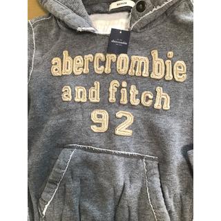 アバクロンビーアンドフィッチ(Abercrombie&Fitch)の新品) アバクロ フーディセーターシャツ US kids M (Tシャツ/カットソー)