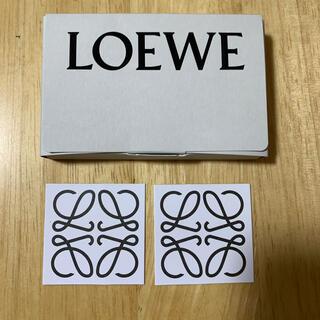 ロエベ(LOEWE)のLOEWE 001 オードゥパルファン 香水 ステッカー(シール)