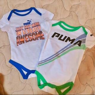 プーマ(PUMA)の新品 PUMA プーマ ロンパース 新生児(ロンパース)
