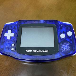 ゲームボーイアドバンス(ゲームボーイアドバンス)のゲームボーイアドバンス GBA 限定ミッドナイトブルー 本体(携帯用ゲーム機本体)