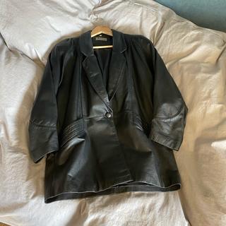 ジョンローレンスサリバン(JOHN LAWRENCE SULLIVAN)の80s vintage leather tailored jacket(レザージャケット)
