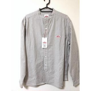 DANTON - [新品] DANTON ダントン バンドカラーシャツ 42サイズ