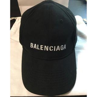 Balenciaga - 【BALENCIAGA】確実正規品 バレンシアガ キャップ ブラック 付属品完備