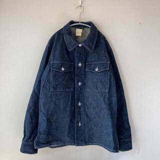 アニエスベー(agnes b.)のフランス製 agnes b デニム シャツ ジャケット 38 アニエスベー(シャツ)