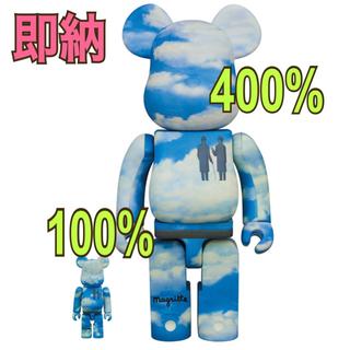 メディコムトイ(MEDICOM TOY)のbe@rbrick rene magritte 400% & 100%(その他)