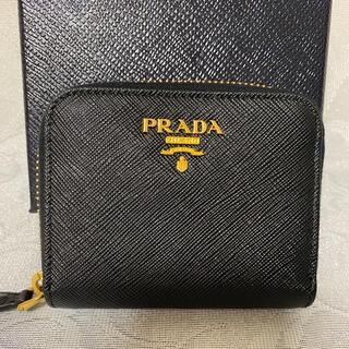 プラダ(PRADA)の極美品 PRADA プラダ コインケース コンパクト 財布(コインケース)