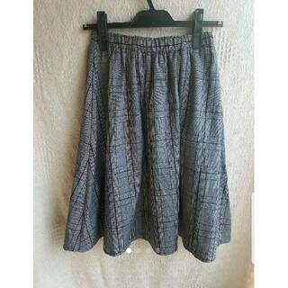 セシルマクビー(CECIL McBEE)のセシルマクビー グレンチェック スカート(ひざ丈スカート)