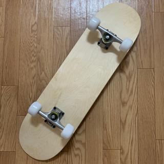 スケボー コンプリート ブランクデッキ 新品未使用 完成車 7.75インチ(スケートボード)