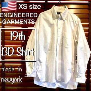エンジニアードガーメンツ(Engineered Garments)の定価3万 エンジニアドガーメンツ BDシャツ XS 19 Century BD(シャツ)