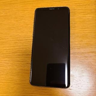 エーユー(au)のGalaxy ギャラクシー s9 SIMフリー au(スマートフォン本体)