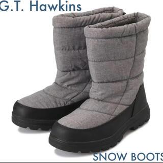 ジーティーホーキンス(G.T. HAWKINS)の【HAWKINS】 ホーキンス スノーブーツ SNOW BOOTS GRAY(ブーツ)
