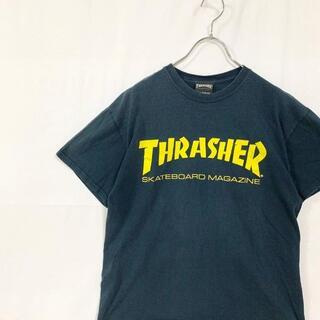 スラッシャー(THRASHER)のTHRASHER スラッシャー Tシャツ ブラック ビックロゴ M(Tシャツ/カットソー(半袖/袖なし))
