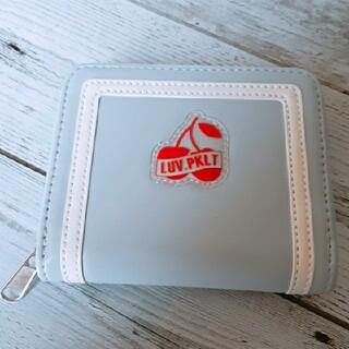 ピンクラテ(PINK-latte)の【新品】PINK-latte☆ピンクラテ チェリーパッチウォレット 財布 (財布)