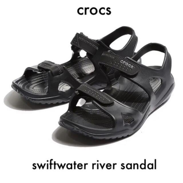 crocs(クロックス)の【お買い得特価】crocs iconic M9 サンダル ブラック メンズの靴/シューズ(サンダル)の商品写真