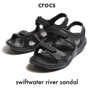 crocs - 【お買い得特価】crocs iconic M9 サンダル ブラック