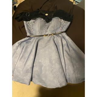 ローブ(ROBE)のROBE de FLEURS ドレス(ミニドレス)