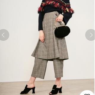 Lily Brown - ラップスカート付ワイドパンツ