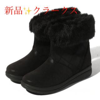クラークス(Clarks)の新品 定価13200円 クラークス ブーツ BLACK お値下げ‼️(ブーツ)