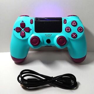 PlayStation4 - プレステ4 ワイヤレス コントローラ 人気 グリーン ベリー 新品 ps4
