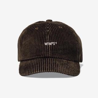 W)taps - WTAPS ダブルタップス コーデュロイ キャップ ブラウン