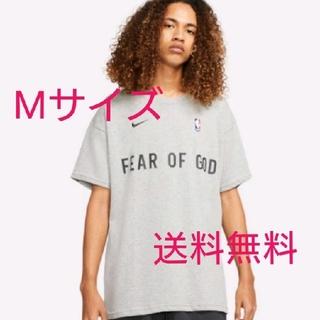 NIKE - nike fear of god ウォームアップT ダークグレー M 送料無料