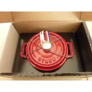 ストウブ(STAUB)の新品 ストウブ ココット ラウンド  10cm (調理道具/製菓道具)