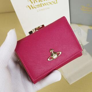 Vivienne Westwood - 新品◆Vivienne Westwood 三つ折り財布◆ローズ