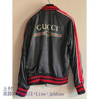 celine - Gucci 18SS メンズ Spiritismo シルク ボンバージャケット