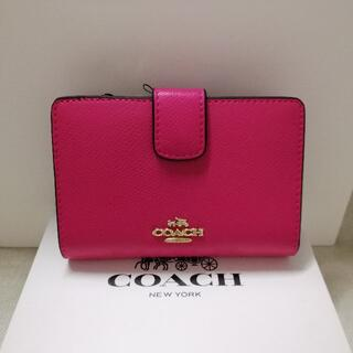 COACH - ★新品未使用★ 送料無料 コーチ COACH 二つ折り財布 F53436
