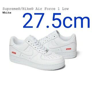 Supreme - supreme air force 1 シュプリーム 白af1  27.5cm