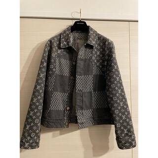 LOUIS VUITTON - louis vuitton monogram denim jacket nigo
