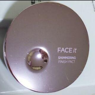 ザフェイスショップ(THE FACE SHOP)のTHE FACE SHOP FACEit シマーリング フィニッシュパクト 02(フェイスカラー)