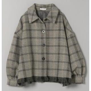 ジーナシス(JEANASIS)の完売カラー 2020年秋冬 ジーナシス  ツイードフリンジショートジャケット(その他)