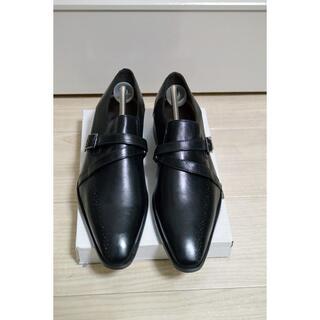マドラス(madras)の新品 マドラス ビジネスシューズ ストラップ 黒 24.5cm 3E 本革(ドレス/ビジネス)