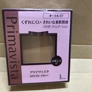 プリマヴィスタ(Primavista)のプリマヴィスタ きれいな素肌質感 パウダーファンデーション オークル07 SPF(ファンデーション)