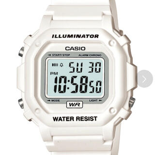 カシオ(CASIO)の【新品未開封】[カシオ] 腕時計 スタンダード  ホワイト(腕時計)